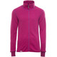 Woolpower Unisex 400 Full Zip Jacket Colour Collection cerise/purple
